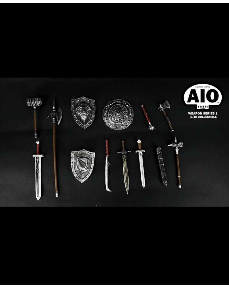 AIO Fantasy Weapon Set - Sliver