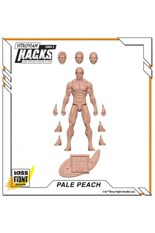 Male Body - PALE PEACH