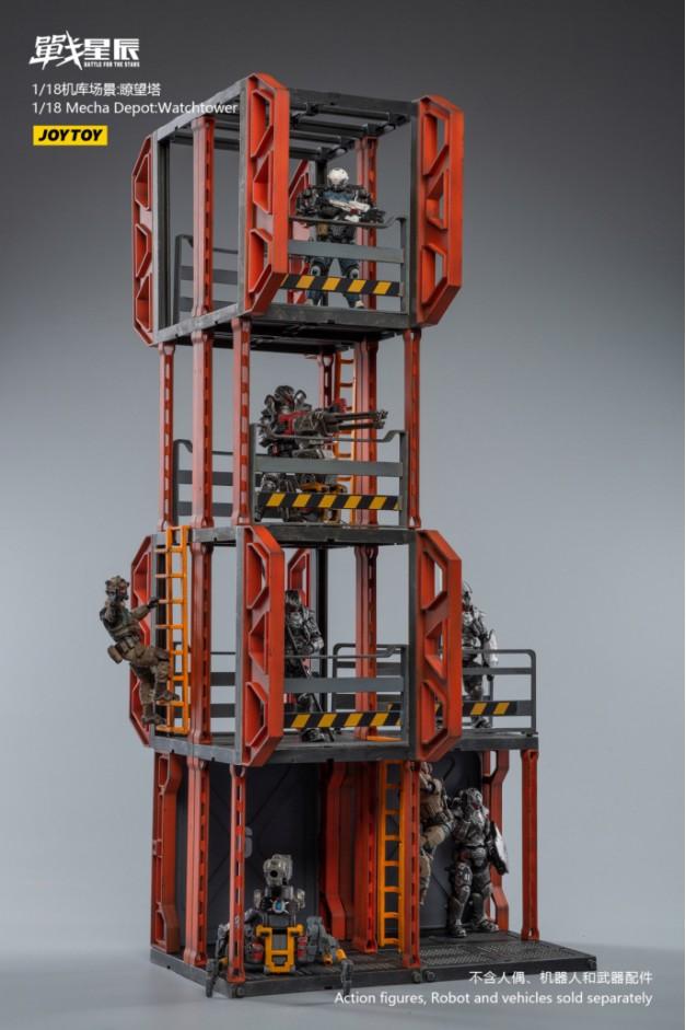 1/18 Mecha Depot:Observation Tower