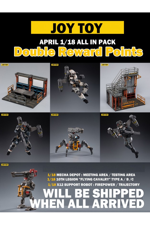 1/18 APRIL ALL IN PACK
