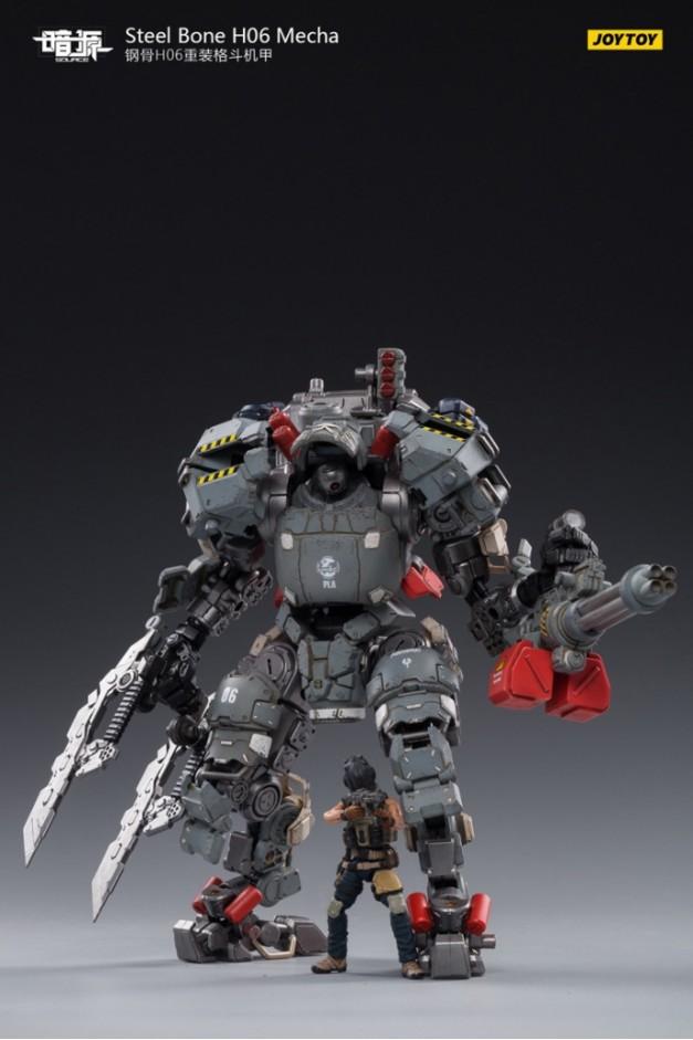 Steel Bone H06 Heavy Combat Mecha -II