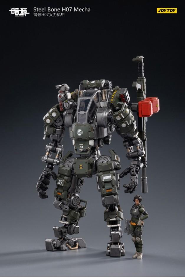 Steel Bone H07 Firepower Mecha (Olive)