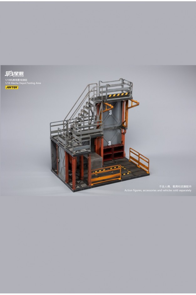 Mecha Depot:Testing Area