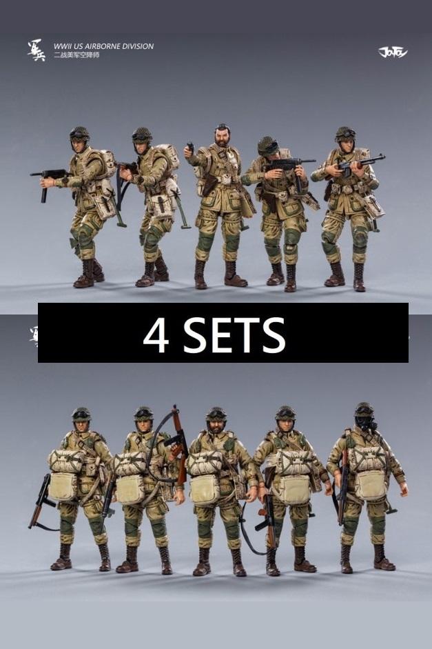 WWII US Airborne Division (4set)