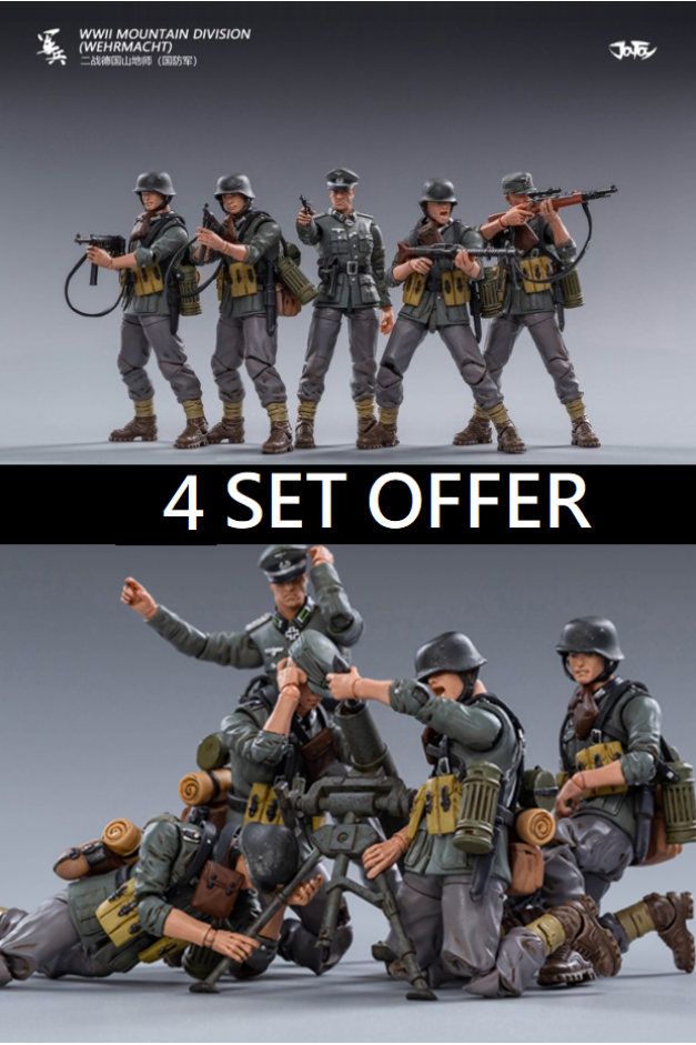 WWII Mountain Division (4set)