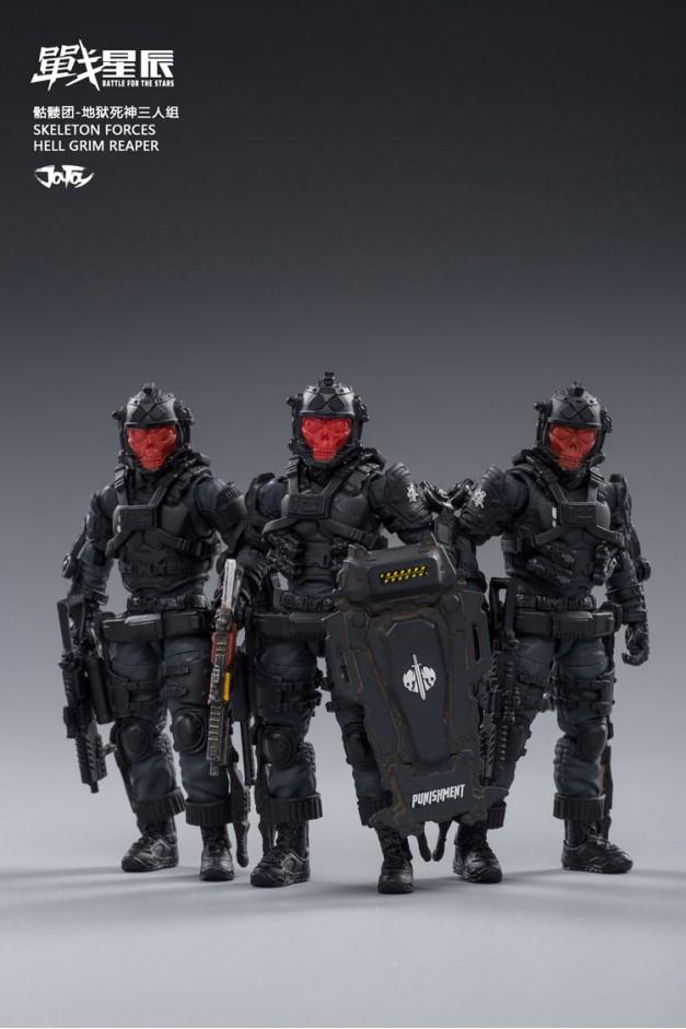 Skeleton Force - Hell Grim Reaper
