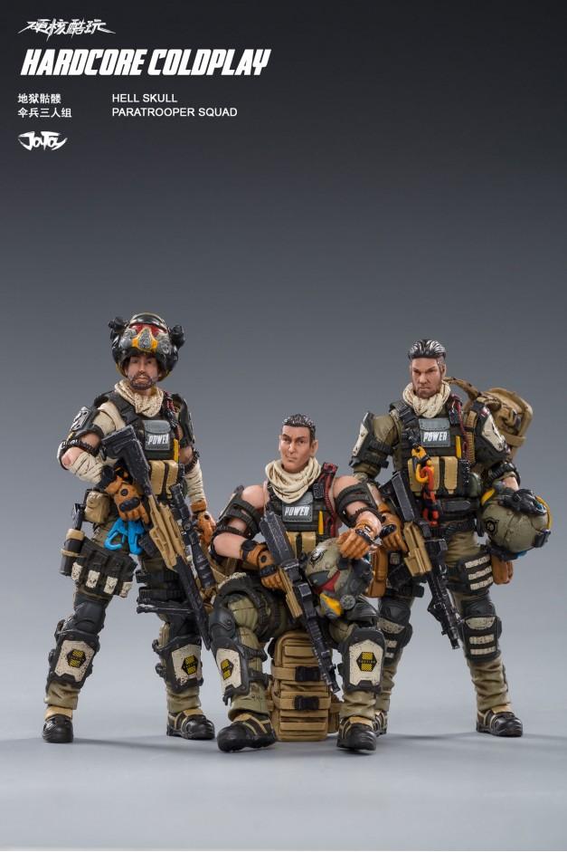 Hell Skull Paratrooper Squad