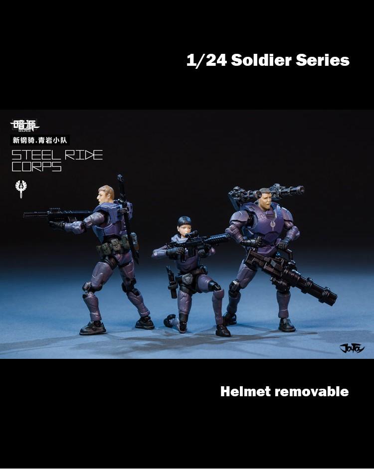 Steel Ride Corps (P)(1/24)