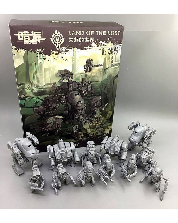 Land of The Lost Model Kit (Free Scale)